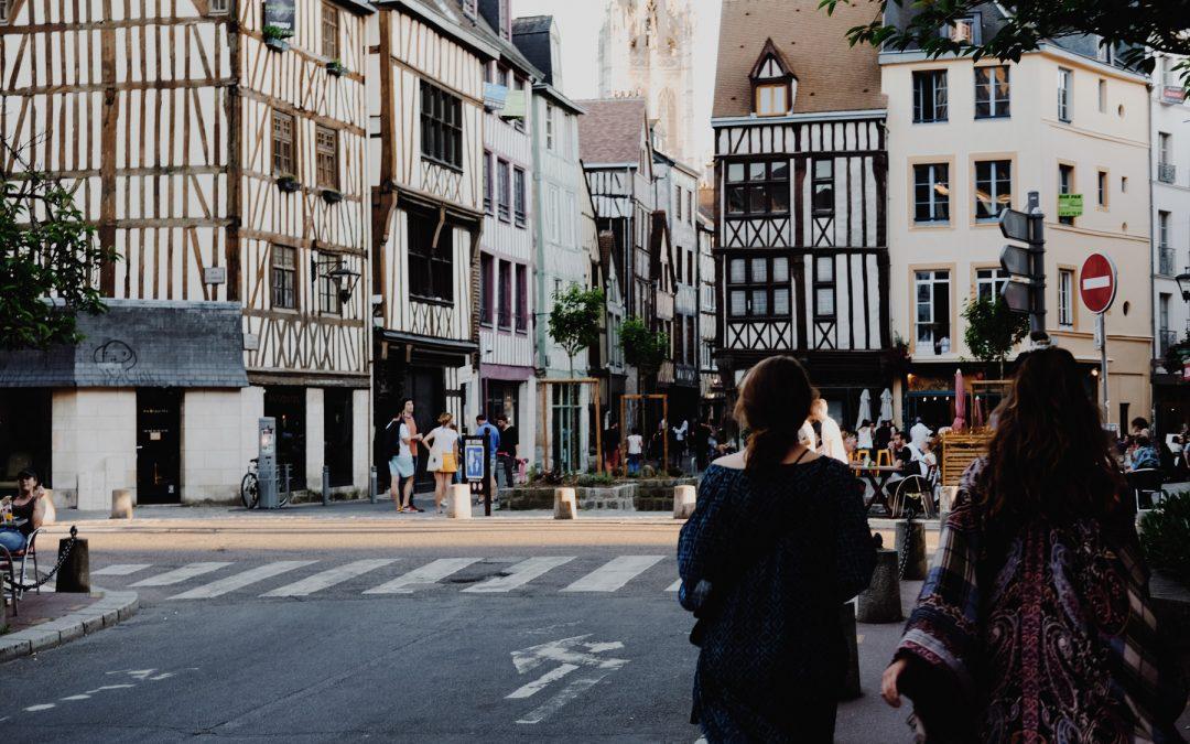 Rouen, a little city in Normandy