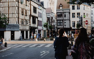 Rouen, a little city in Normandy