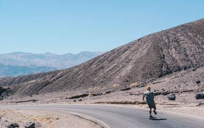 Death Valley (varmeste stedet på jorden)